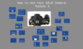 How to use your DSLR camera: Module 1