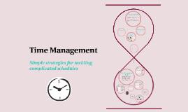 Time Management for Tutors