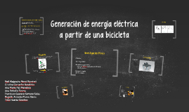 Generación de energia eléctrica
