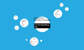 Developing a Marketing Campaign Part 2: The role of promotion within the marketing mix