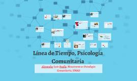 Línea de Tiempo, Psicología Comunitaria