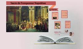Sacre de l'empereur Napoléon