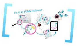 Food in Public Schools