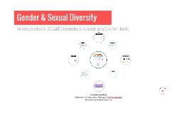 Spring SARC Conference - Gender Diversity