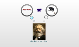 Marx and Capitalism
