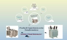 Prueba de Capacitancia en los Transformadores
