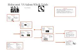 Holocaust  VS Salem Witch Trials