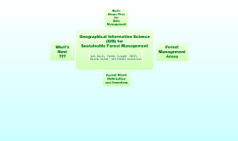 GIS for Sustainable Forest Management