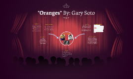 """Copy of """"Oranges"""" By: Gary Soto"""