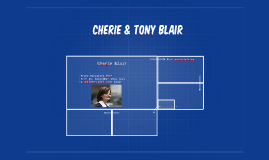 Cherie & Tony Blair