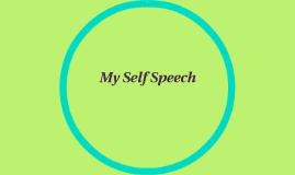 My Self Speech