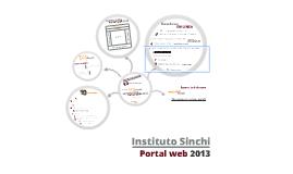 Presentación del Nuevo Portal del Instituto Sinchi 2013