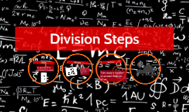 Division Steps