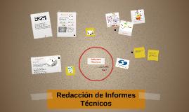 Copy of Redacción de Informes Técnicos
