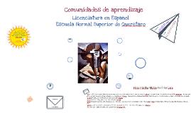 Proyecto de Comunidades de aprendizaje, en la licenciatura de español.