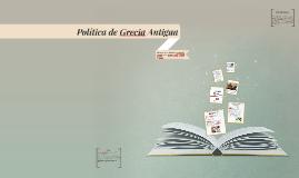 Política de Grecia Antigua