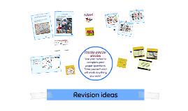 Copy of Revision ideas