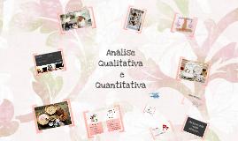 Análise Quantitativa e Qualitativa