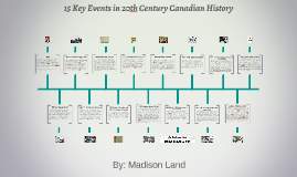 15 Key Events in 20th Century Canadian History