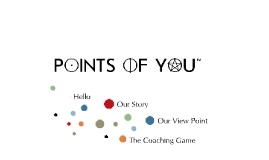 Copy of POINTS OF YOU™ Presentation