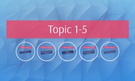 Topic 1-5