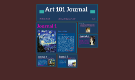 Week One Journal: Starry Night