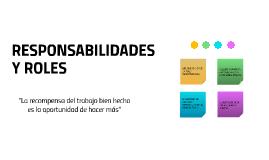 Responsabilidades y Roles