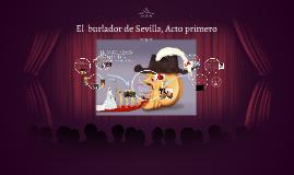 El  burlador de Sevilla, Acto Primero