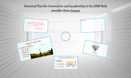 Personal Plan for Innovation and Leadership in the DNP Role