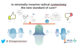 Is minimally invasive radical cystectomy, the new standard of care?