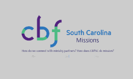 CBFSC Mission Partner Connections