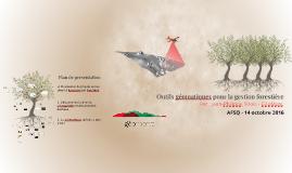 Outils géomatiques pour la gestion forestière