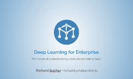 Copy of Dreamforce15: Deep Learning for the Enterprise