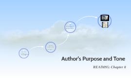 Author's Purpose and Tone