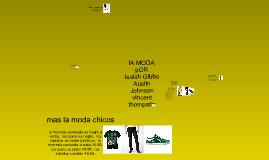 La Moda-IsaiahGibbs-Mrs. Arellano Project