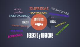 DERECHO y NEGOCIOS