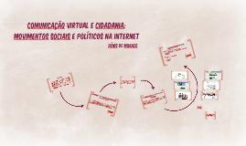 Comunicação virtual e cidadania: movimentos sociais e políti