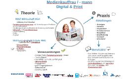Medienkauffrau / - mann Digital und Print