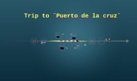Trip to ¨Puerto de la cruz¨
