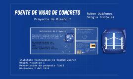 Copy of Puente de Vigas de Concreto