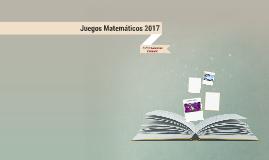 Juegos Matemáticos 2017