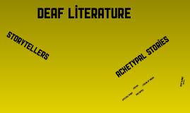 Deaf Literature