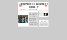 Alberta couple found guilty in meningitis death of 18-month-