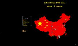 China- Cross Cultural Management