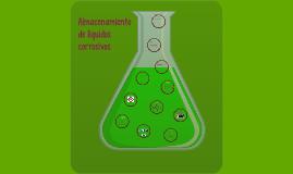 Almacenamiento de líquidos corrosivos