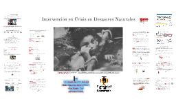 intervención en crisis en desastres naturales