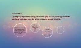 Copy of MENTAL HEALTH