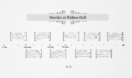 Murder at Walton Hall