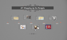 AP: Wrapping Up the Mongols