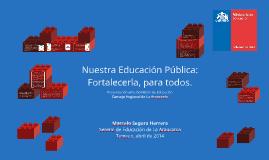 Presentación Seremi de Educación en Core Araucanía